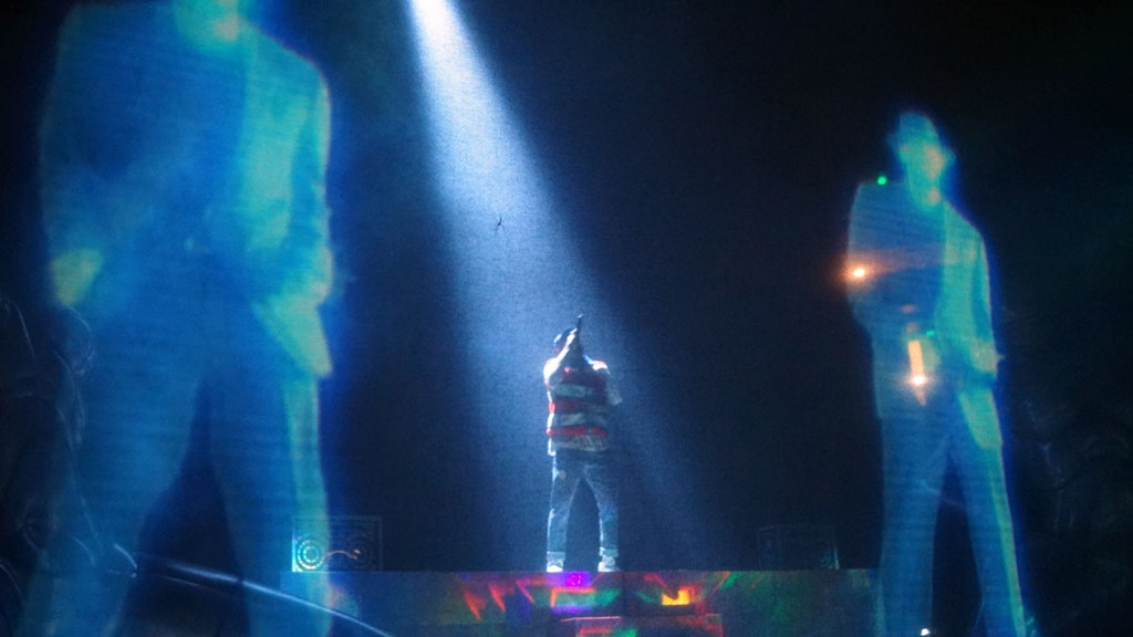 Tour production Chris Brown LED Video Projection servers and lighting
