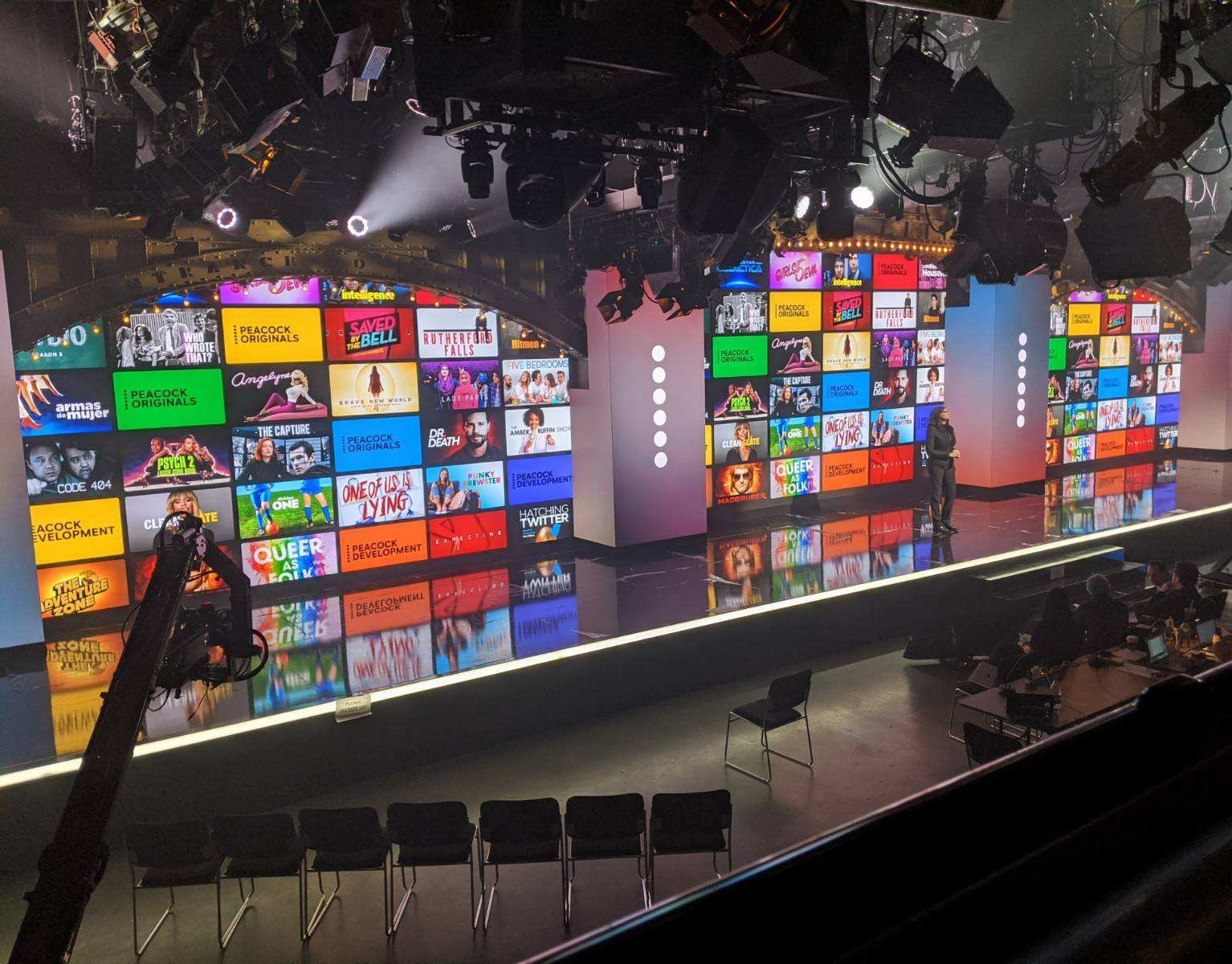 Nbc Peacock Launch Event Led Walls And Processors
