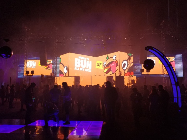 E3 2018 Fortnite Party Royale LED Video