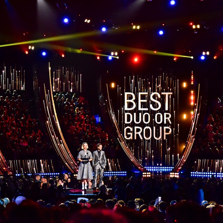 2019 iHeart Music Awards event production and LED Video Wall