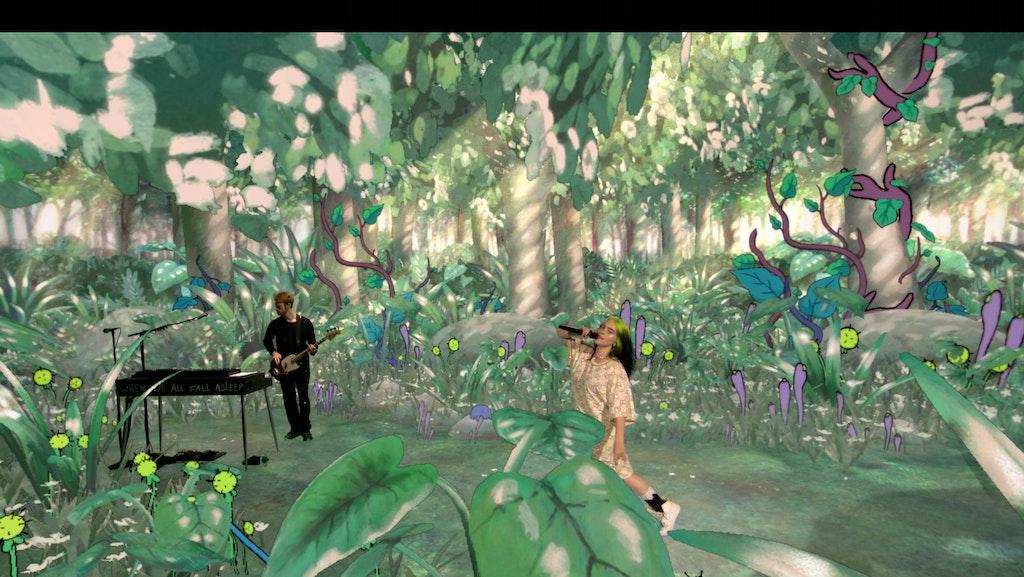 Billie Eilish Xr Jungle Where Do We Go Extended Reality