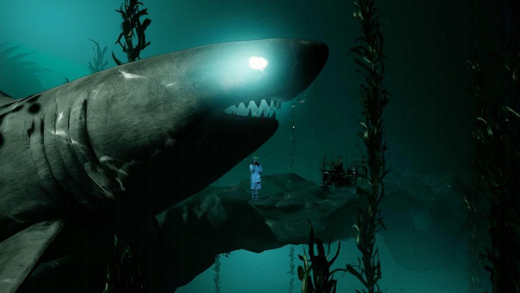 Billie Eilish Xr Shark Where Do We Go Extended Reality