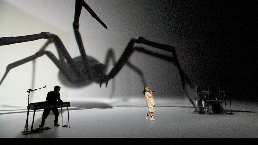 Billie Eilish Xr Spider Where Do We Go Extended Reality