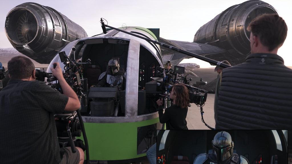 The Mandalorian Roe Bp2 Led Visual Integration Wall And Ceiling Led Rental Razor Cockpit